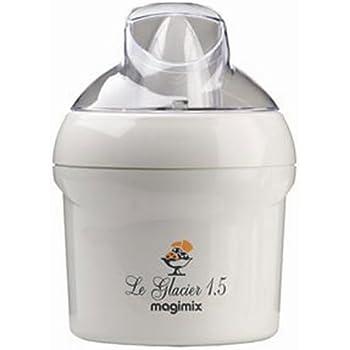 Magimix Le Glacier 1.5 Ltr Ice Cream Maker (White)