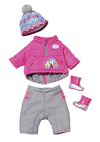 Zapf Creation 823811 - Baby Born Play&Fun Deluxe Winter Set (Kleidung Baby Born)