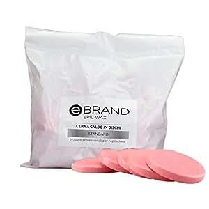 Ceretta a Caldo in Dischetti Ebrand - Rosa - 1 Kg