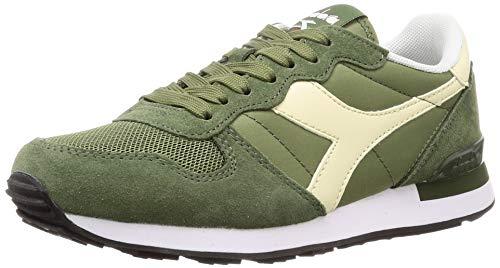 Diadora camaro, scarpe sportive unisex - adulto, verde (verde olivina/bianco sospiro), 44 eu