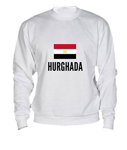 Preisvergleich Produktbild Sweatshirt Hurghada city White