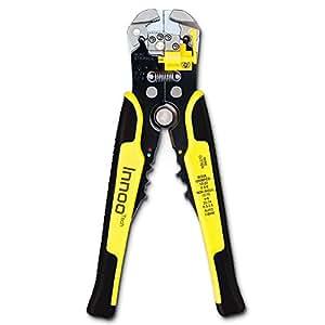 InnooTech Pince à dénuder automatique et coupe-fil –Pince à sertir, réglage automatique, réglable