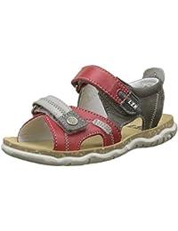 Huhua-Baby Sandal Sandals for Boys, Sandali Bambine, Rosso (rosso), 22 EU