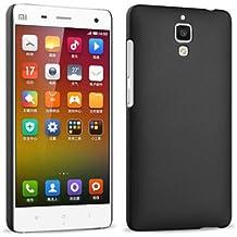 Prevoa ® 丨Original Colorful Hard Plastic Cover Funda Para Xiaomi 4 M4 Mi4 Smartphone - Negro