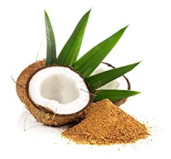 1 kg BIO Kokosblütenzucker | Kokos | Süßen | Zimt | Karamel | goldfarbener Zucker