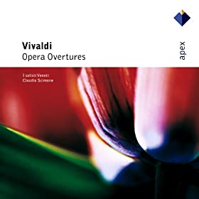 Vivaldi : L'Olimpiade : Overture to Act 1