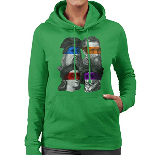 Cloud City 7 Teenage Mutant Renaissance Women's Hooded Sweatshirt