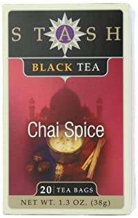 Stash Chai Spice Box of Tea Bags, 20 Count
