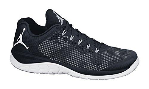 Nike Jordan Flight Runner 2, Chaussures de Running Entrainement Homme, Noir, Taille Noir / Gris / Blanc (Black / Wolf Grey-White)