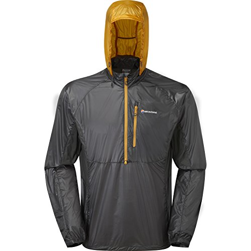 Montane Featherlite Pro Pull-On Outdoor Giacca - AW17 Shadow Inca Gold