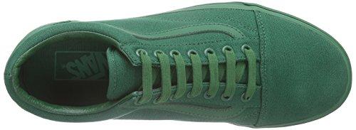 Vans Classic Slip-On, Baskets Basses Mixte Adulte Vert (Verdant Green)