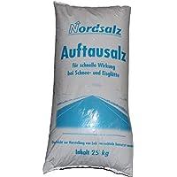 Streusalz | Auftausalz | Nordsalz | 25 kg Sack| für den professionellen Winterdienst | Streugut | sofort verfügbar