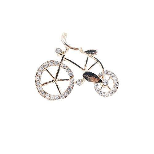Eine Form Kragen (Olydmsky Brosche Fahrrad Form Kragen Nadel hochwertigen Intarsien Juwel Dame Brosche Legierung Brosche)
