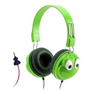 Griffin KaZoo MyPhones Frog Over Ear Headphones - Green