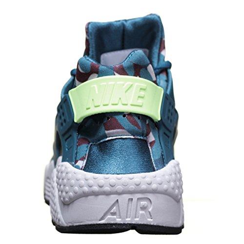 NIKE Air HUARACHE Run Print Baskets neuf vert Teal Ghost Green