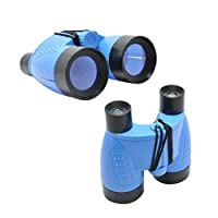 ZHOUBA Portable Kids Binoculars Outdoor Bird Watching Star Gazing Birthday Gift Toy