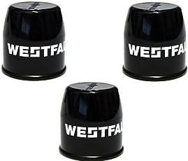 PRAKTISCHES SET! 3 x WESTFALIA ABDECKKAPPE Kappe Anhängerkupplung Schutzkappe für Kugelkopf UNIVERSAL