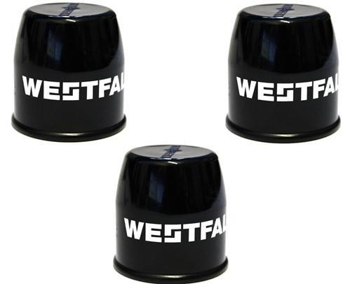 Bresetech PRAKTISCHES Set! 3 x Westfalia ABDECKKAPPE Kappe Anhängerkupplung Schutzkappe für Kugelkopf UNIVERSAL