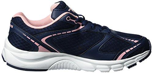 KangaROOS - K-marine, Scarpe da ginnastica Unisex – Adulto Blau (k blue/rose)