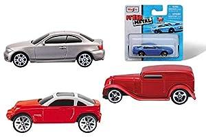 Maisto NB-271501-0075 - Bauer 15044 coches de metal frescas, clasificado, 7,5 cm , Modelos/colores Surtidos, 1 Unidad