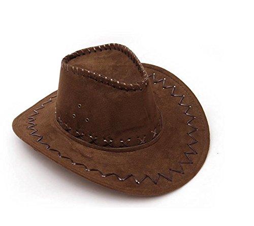 Cowboyhut Westernhut Cowgirl australien Texas Cowboy Damenhut Herrenhut Hut Hüte Western (Tina Kostüm)