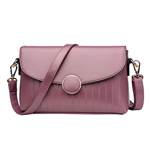Yy.f Nuove Borse Della Spalla Tendenza Di Modo Zaino Diagonale Signora Estrinseca Modo Intrinseca E Pratico Multicolore Pink