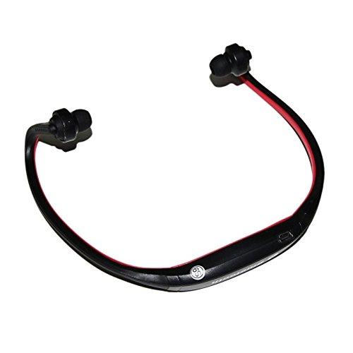 lemumu Bluetooth Headset Kopfhörer Ohrhörer/Headset, Laufen/Fitness, schweißfest, für iPhone/Apple iPhone/Android-Smartphones rot