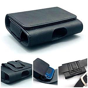 41EWovZvgsL. SS300  - SEWAS Diabetic Care, Tasche für das Freestyle Libre Messgerät 1 und 2, Gürteltasche Blutzuckermessgerät, Diabetikertasche, Schutzcase Schwarz