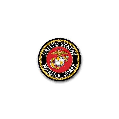 -USMC United States Marine Corps USA US Department Navy Soldaten Adler Anker Wappen Abzeichen Emblem 7x7 cm #A2297 (Marine Corps Dekorationen)