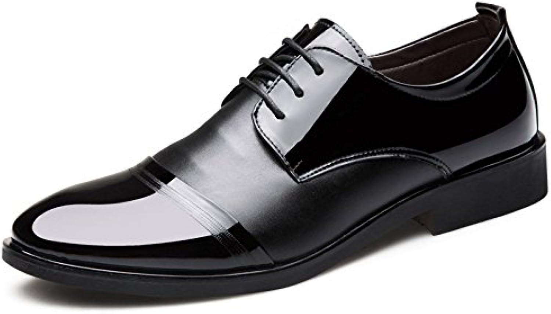 Männer Kleid Schuhe Schwarz Leder Schuhe Business Youth Casual Hochzeitsschuhe
