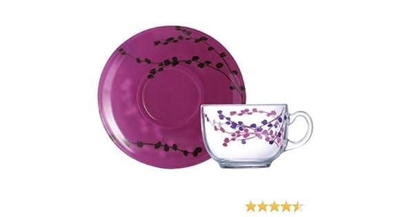 22 cl Violet Dajar 06261 caf/é Kashima Luminarc