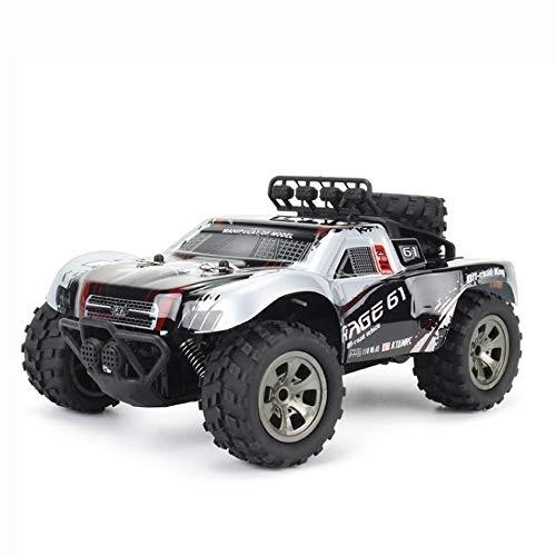 Kikioo High-Speed-Riese 16 km/h 4WD 2,4 GHz-Legierung Elektrische Big-Foot-Rock Crawler Monster Truck Funkfernbedienung Off-Road-RC Driften Klettern Auto RTR Cross-Country-Auto Buggy Geschenke for P