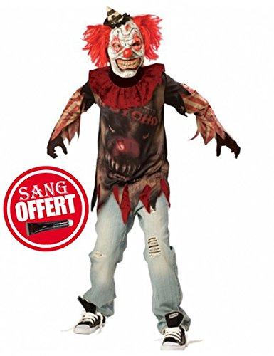 Sideshow Killer Clown Kostüm (Kinder Jester Kostüme Evil)