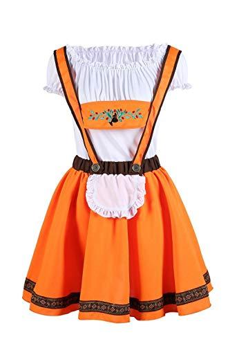 Party City Billige Kostüm - NGHJF Orange Damen Oktoberfest Kostüm Strap