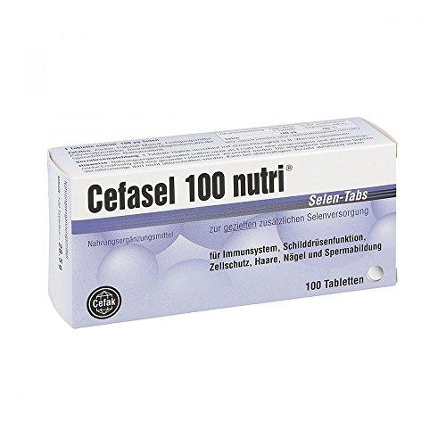 Cefasel 100 nutri Selen Tabs Tabletten 100 stk