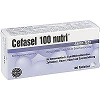 Cefasel 100 nutri Selen-Tabs, 100 St. Tabletten preisvergleich bei billige-tabletten.eu