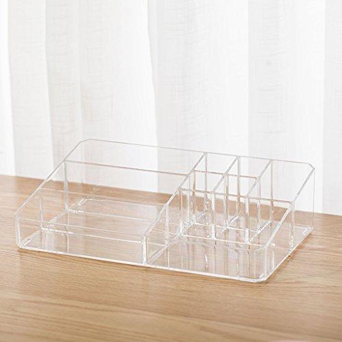 XW Acrylkosmetik-Aufbewahrungsbehälter-Plastik Transparenter Desktop-Kommode-Hautpflege-Regal -