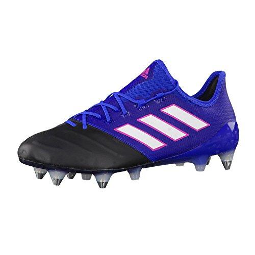 adidas Herren Ace 17.1 Leather SG für Fußballtrainingsschuhe, Blau (Azul/Ftwbla/Negbas, 46 2/3EU (Blu Game Control)