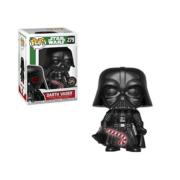 Funko Pop Darth Vader con bastón caramelo Navidad(Star Wars 279) Funko Pop Star Wars