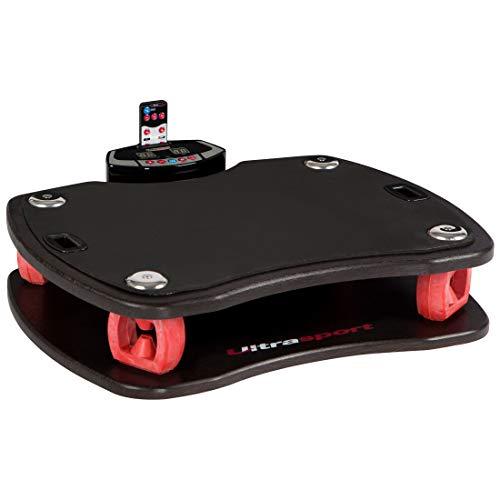 Ultrasport VP 400-3D, Pedana Vibrante Unisex-Adulto, Bianco/Rosso, Taglia Unica
