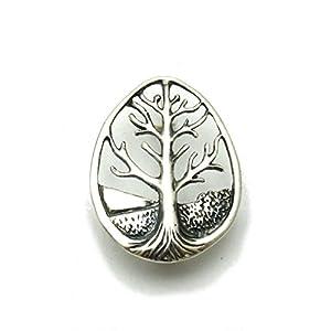 Sterling Silber Brosche Baum des Lebens massiv 925 Empress