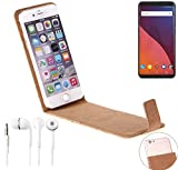 K-S-Trade Cork Case Flip Style Cover for Wiko View 32 GB +