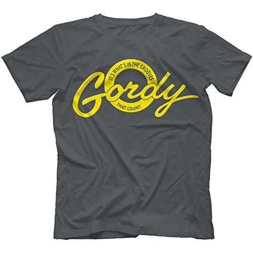 Gordy Records T-Shirt in 13 Farben Kohle