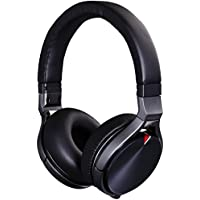 JVC Kenwood KH-KR900-E On-Ear Foldable Headphone with Remote and Microphone - Black