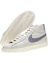 online store 00b37 392db Nike Blazer Mid Vintage per Uomo e Donna alte pelle o camoscio dd1 - Panna