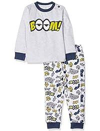 Chicco Pigiama Manica Lunga, Pijama para Bebés, Gris (Grigio Chiaro 091),