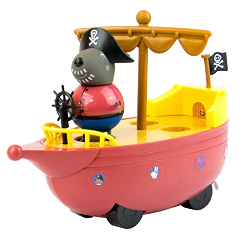 Character Optiions Peppa Pig Grandad Dog Pirate Boat Ship Playset