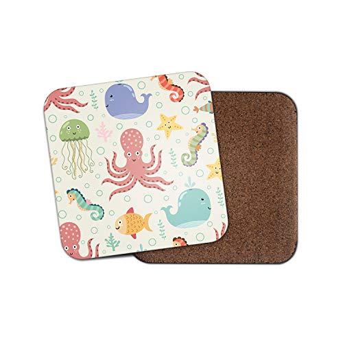 igen Unterwasserkreaturen - Octopus Seepferdchen Wal Kinder niedliches Geschenk #8787 ()