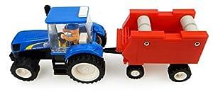 Universal Hobbies-uhk1213-Tractor-New Holland con Prensa-126Piezas
