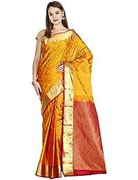 The Chennai Silks - Kanjivaram Silk Saree - Sunflower Yellow - (CCMYSS6287)